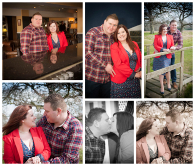 The engagement shoot of Hannah & Charles
